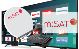 m:SAT TV ugradnja